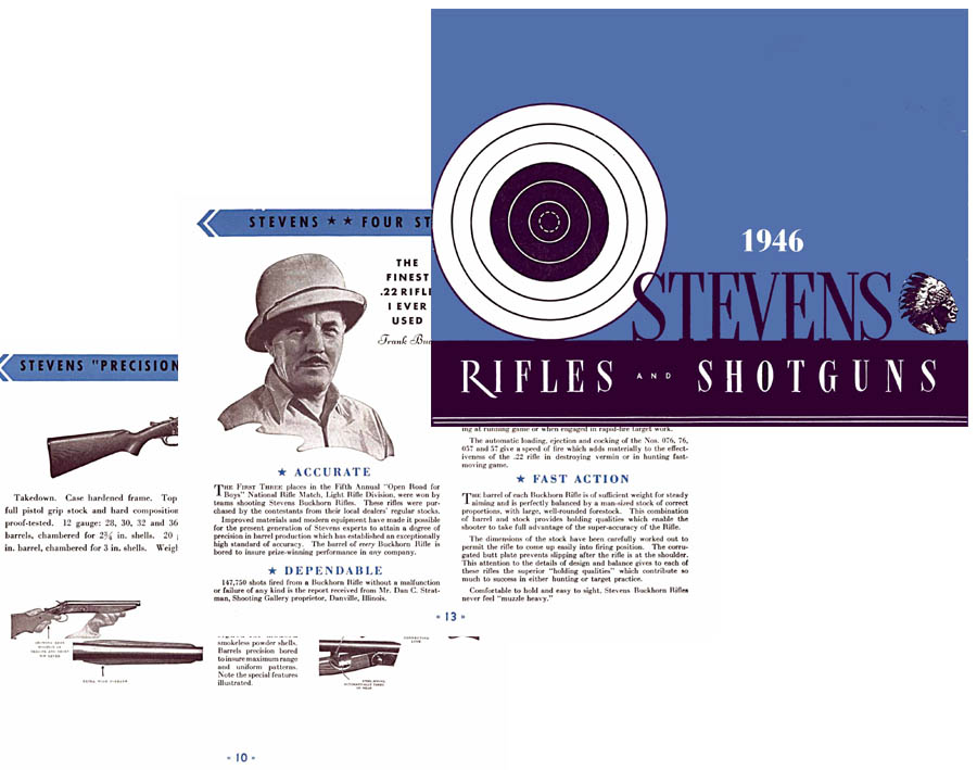 Stevens 1946 Rifle & Shotgun Gun #43 Catalog