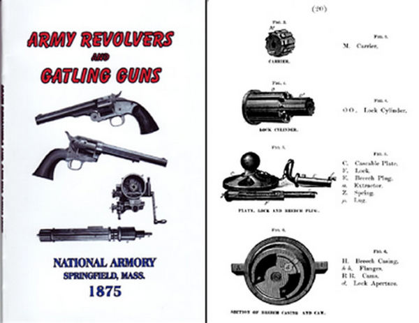 Rules for the Inspection of Army Revolvers & Gatling Guns 1875