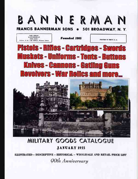 Bannerman 1955 Military Goods Catalogue