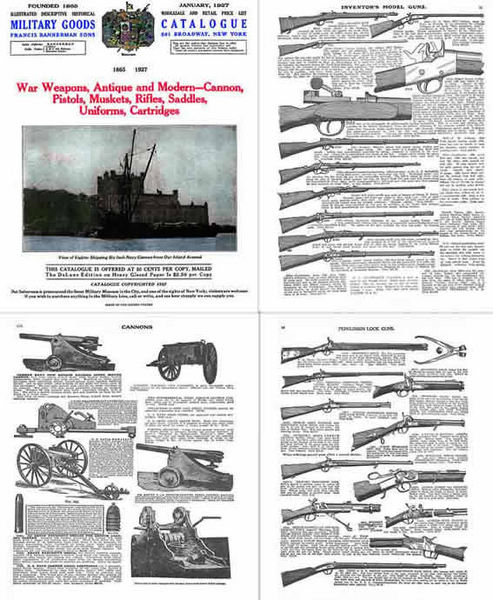 Bannerman 1927 Military Surplus Goods Catalog