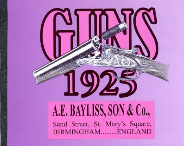 A. E. Bayliss - 1925 Catalog
