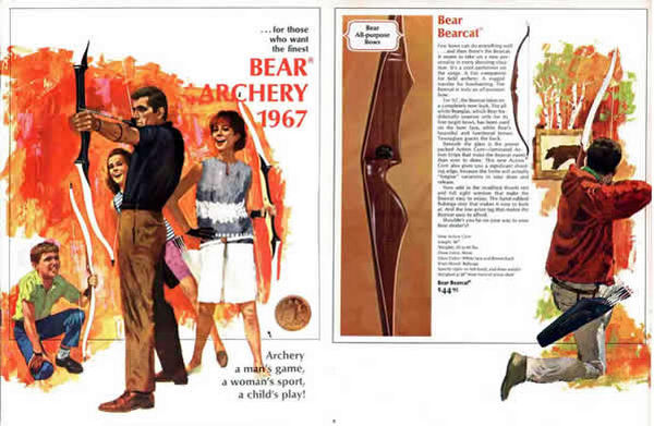 Bear 1967 Archery Catalog