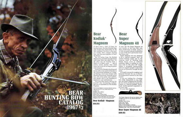 Bear 1967 1/2  Archery Catalog (Intro for Super Kodiak etc)