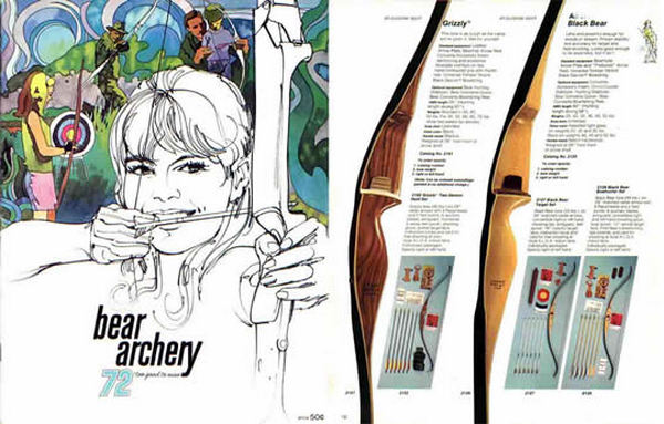 Bear 1972 Archery Catalog