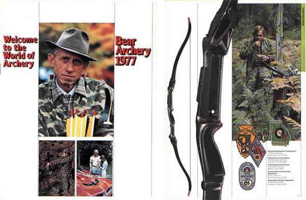 Bear 1977 Archery Catalog