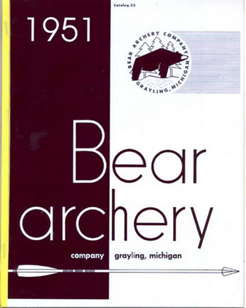 Bear 1951 Archery Catalog
