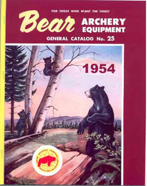 Bear 1954 Archery Catalog