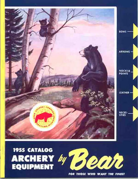 Bear 1955 Archery Catalog