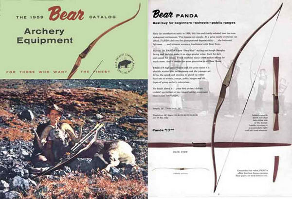 Bear 1959 Archery Catalog