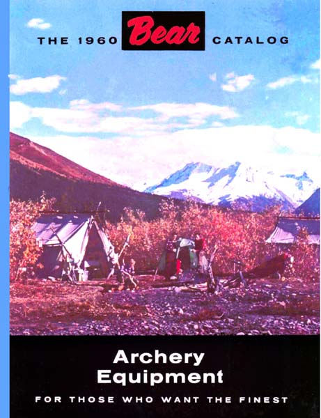 Bear 1960 Archery Catalog