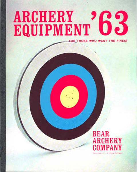 Bear 1963 Archery Catalog