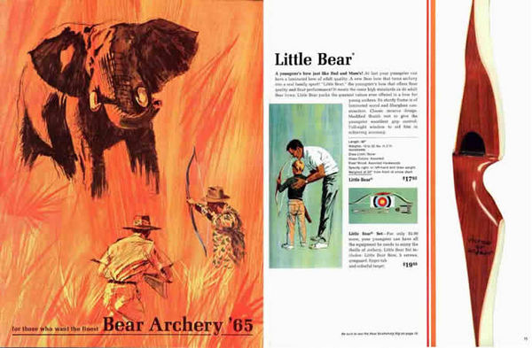 Bear 1965 Archery Catalog
