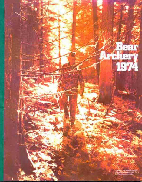 Bear 1974 Archery Catalog