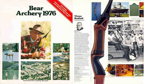 Bear 1976 Archery Catalog