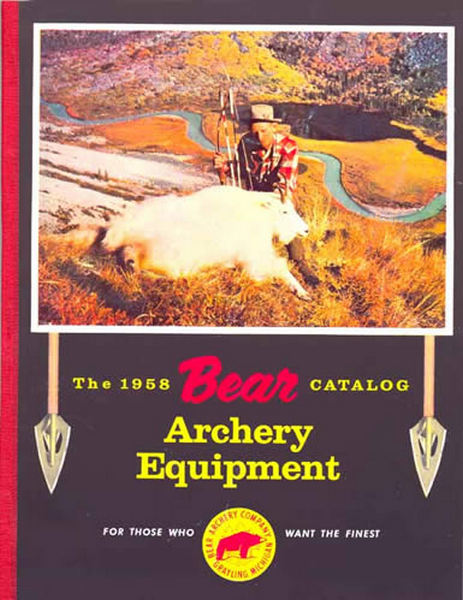 Bear 1958 Archery Catalog