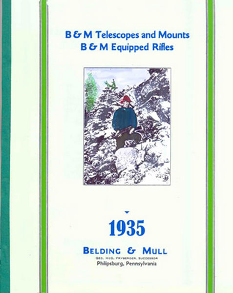 Belding & Mull Telescopes and Mounts 1935 Catalog