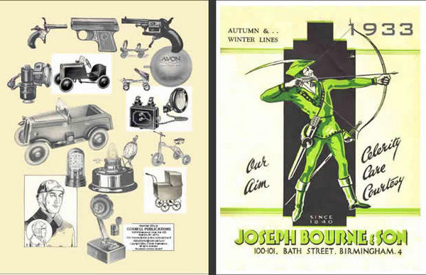 Joseph Bourne & Son Wholesale Trade Catalog 1933 (UK)