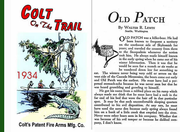 Colt 1934 on the Trail