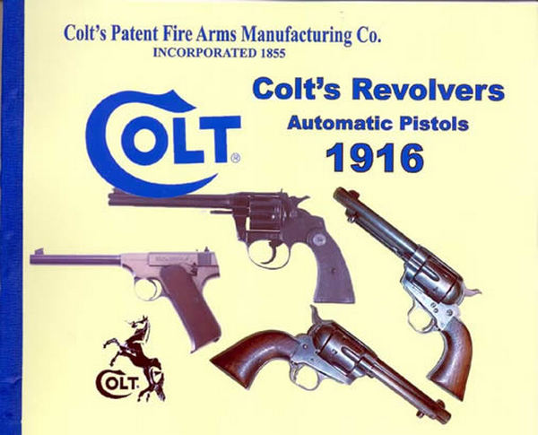 Colt 1916 Firearms Factory Catalog