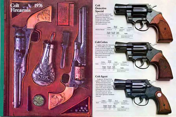 Colt 1976 Firearms Catalog