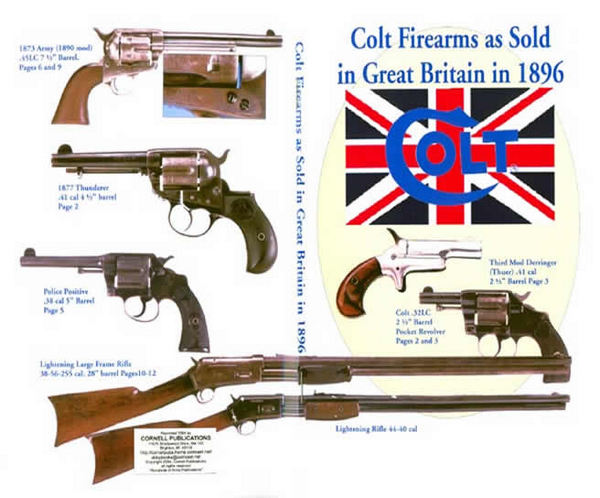Colt 1896 Firearms Sold in Great Britain