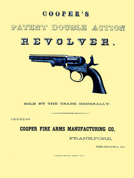 Cooper Revolvers 1865 Flyers