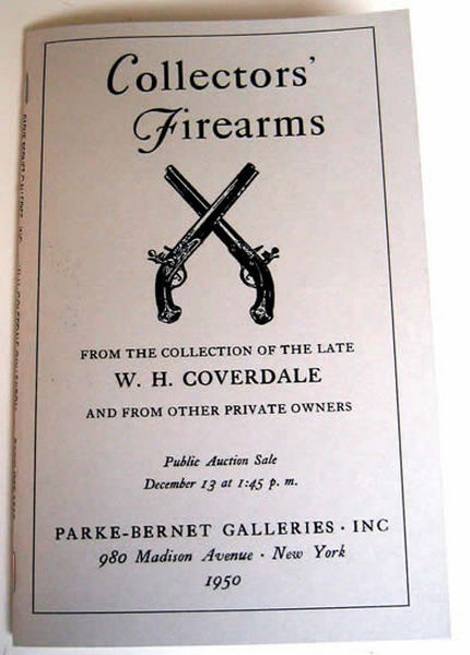 Coverdale Collection- Significant Auction- 1950