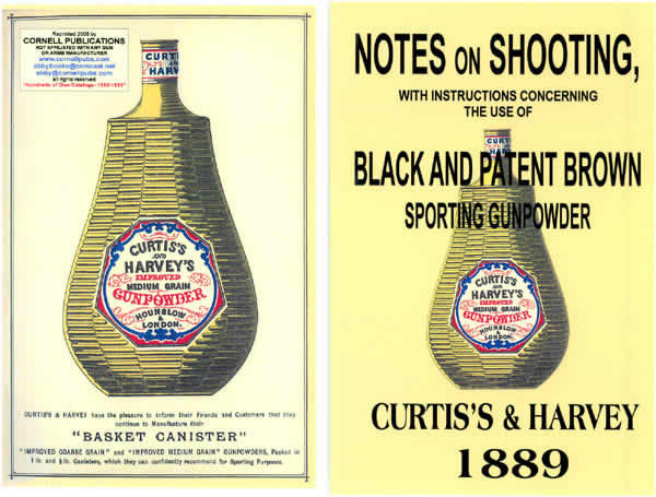 Curtis's & Harvey Ammunition 1889 Notes on Shooting