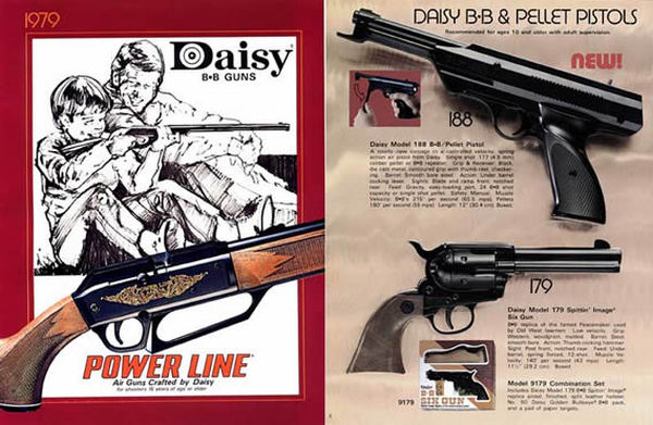 Daisy 1979 Air Guns Power Line Catalog
