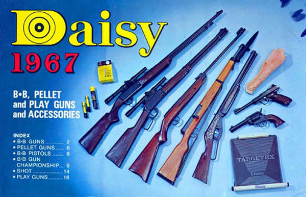 Daisy 1967 BB, Pellet, Play Guns & Access Catalog