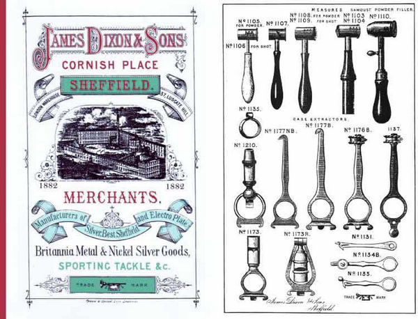 Dixon, James & Sons 1882 Catalog (Sheffield UK)