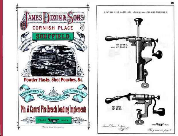 Dixon, James & Sons 1883 Catalog (Sheffield UK)