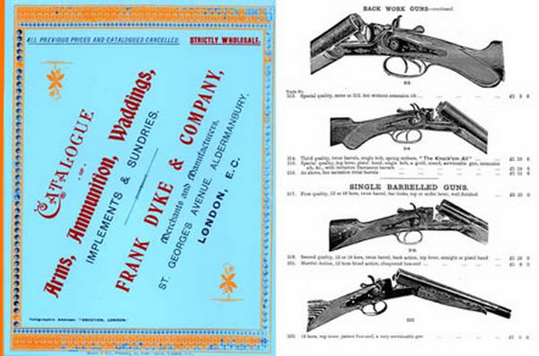 Dyke, Frank & Company Gun Catalog c1915 (UK)