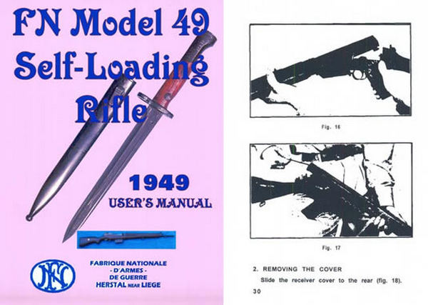 FN Model 49 Self Loading Rifle Manual