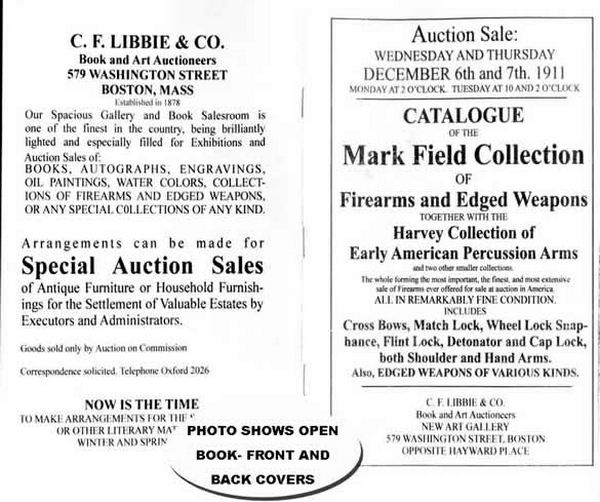 Mark Field Collection - reviewed by Sawyer - 1911
