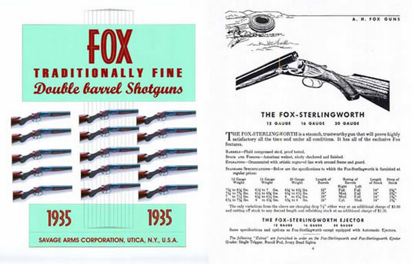 AH Fox 1935 Catalog