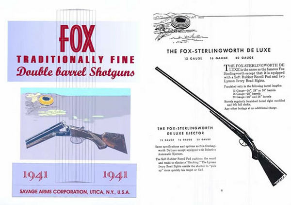 AH Fox - 1941 Catalog