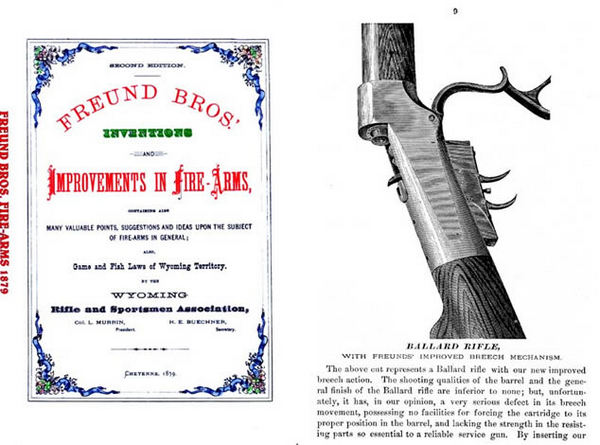 Freund Brothers Inventions 1879 - Improvements in Fire Arms