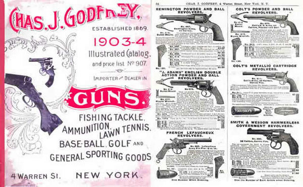 Godfrey, Chas. J. 1903-4 Guns & Sport Goods Catalog (New York)