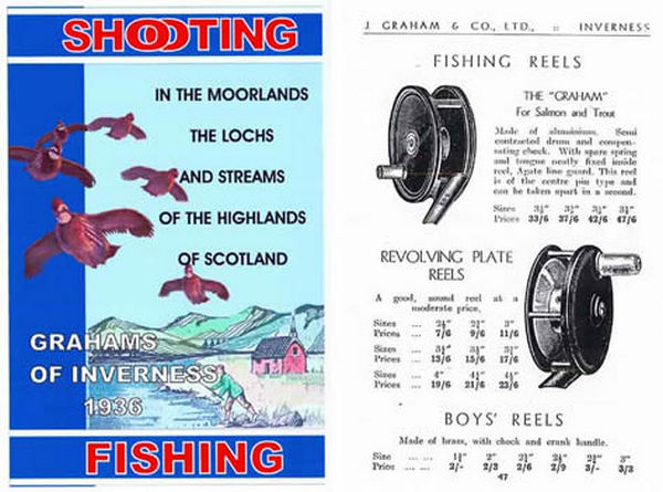 Grahams of Inverness (Scotland) 1936 Catalog