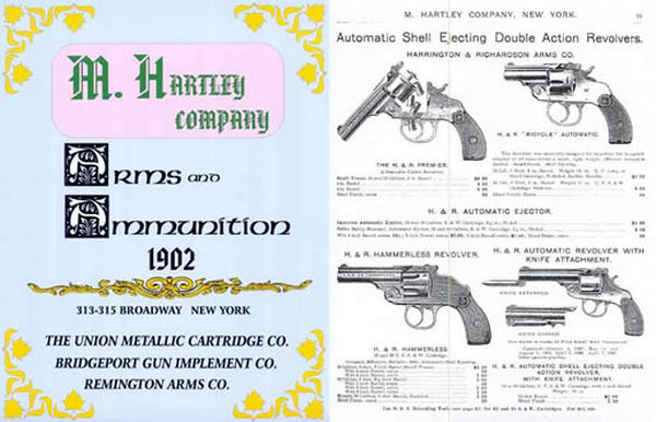 Hartley, M. Company Arms and Ammu. 1902 Catalog