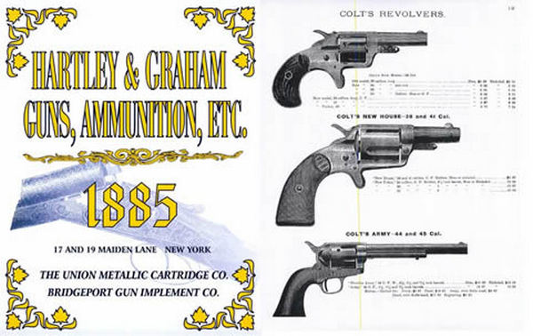 Hartley & Graham 1885 Gun Catalog (New York)