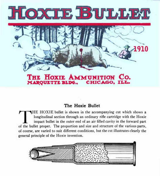 Hoxie Ammunition Company 1910 Catalog