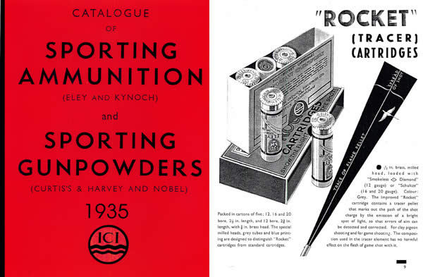 Eley 1935 and Kynoch, Curtis's & Harvey, Ammunition (UK)