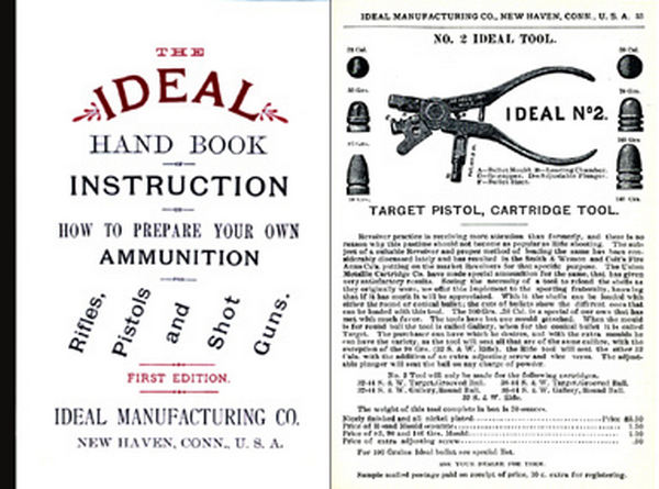 Ideal 1891 Hand Book of Instructions First Edition Catalog