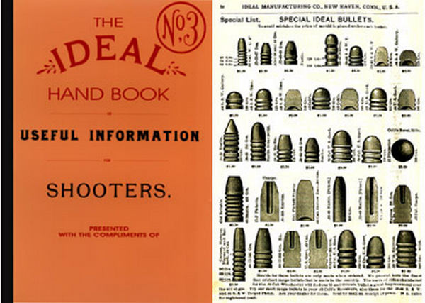 Ideal 1893 Hand Book for Shooters No.3 Catalog