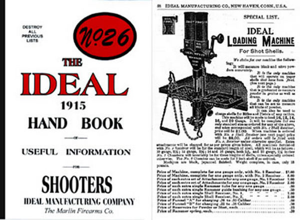 Ideal 1915 Hand Book of Useful Information No. 26 Catalog