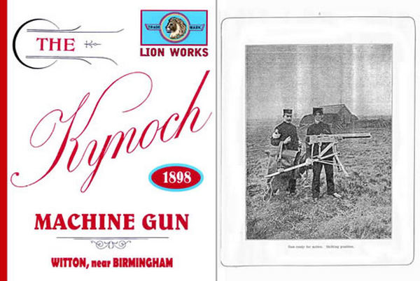 Kynoch 1898 Machine Gun Catalog (UK)