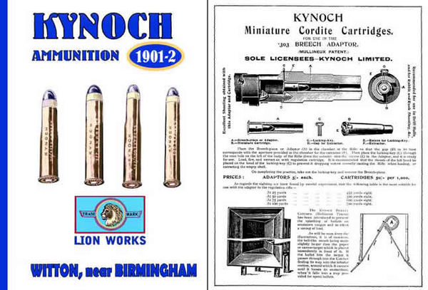 Kynoch 1901-02 Limited Ammunition Manufacturers Catalog (UK)