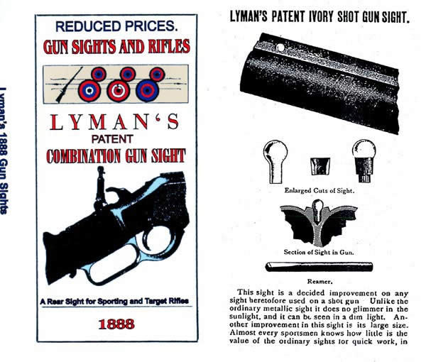 Lyman 1888 Sights Catalog